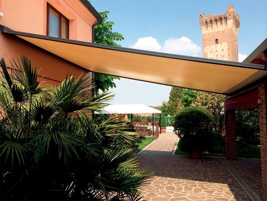 Tende Pergolati Verona : T.30 tenda da sole a veranda tende scorrevoli orizzontalmente